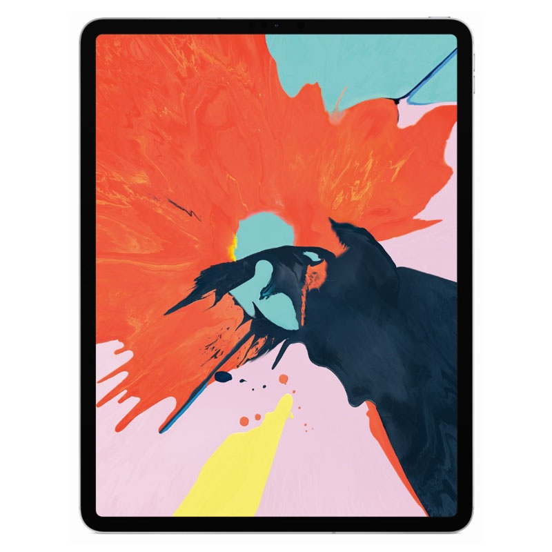 Apple iPad Pro 12.9'' 2018 WiFi And Cellular 64GB Silver Με Αντάπτορα Πληρωμή έως 24 δόσεις