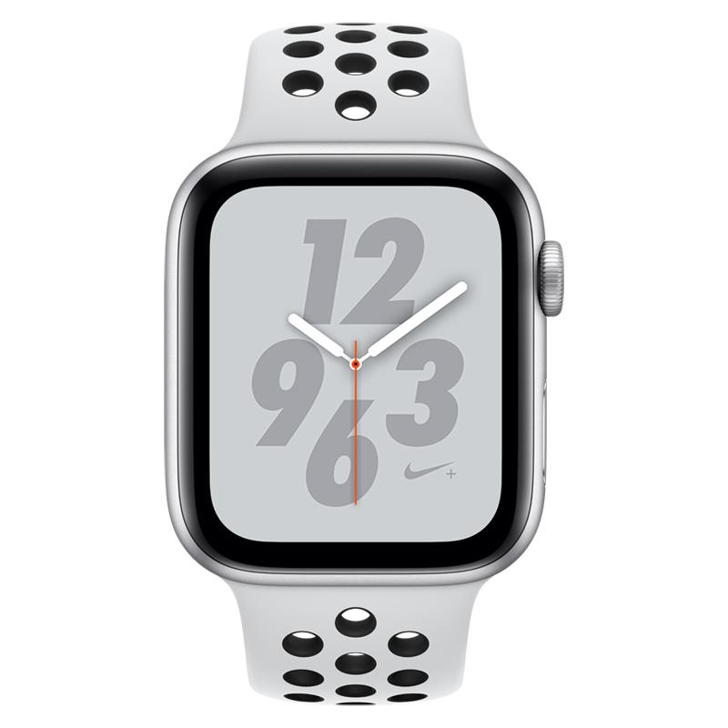 Apple Watch Series 4 Nike+ 40mm Aluminium Silver Sport Band MU6H2 Πληρωμή έως 24 δόσεις