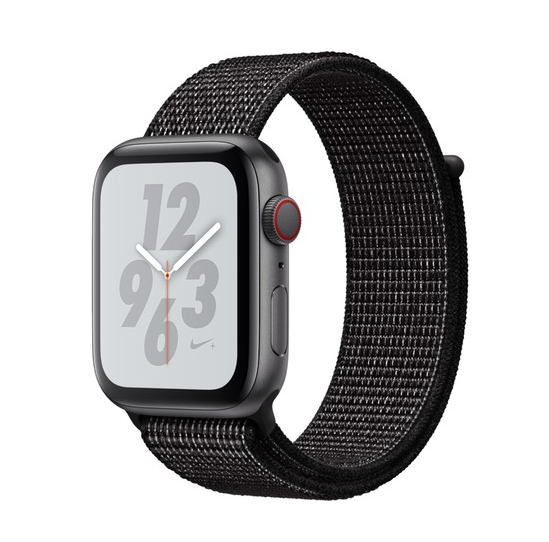 Apple Watch Series 4 Nike+ 44mm Cellular Aluminium Space Grey Sport Loop MTXL2 Πληρωμή έως 24 δόσεις