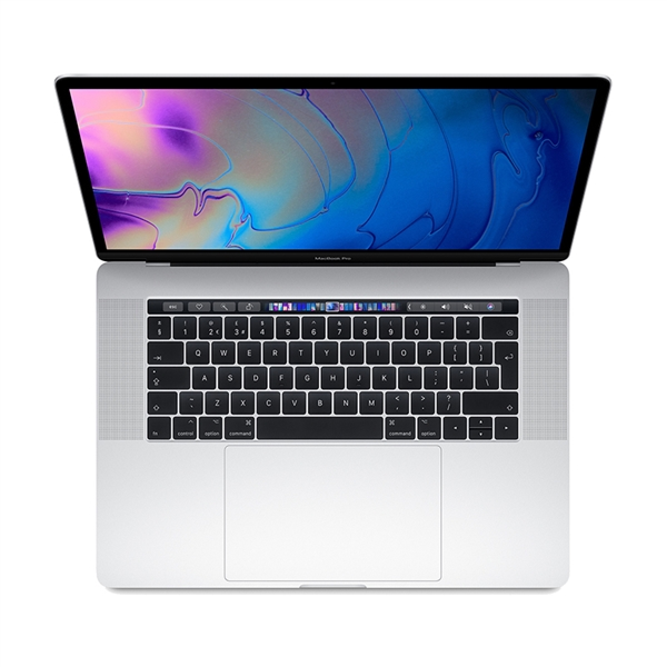 Apple MacBook Pro MV932 15.4'' 2.3GHz i9/16GB/512GB/Radeon Pro 560X With Touch Bar 2019 Silver English Keyboard Με Αντάπτορα Πληρωμή έως 24 δόσεις