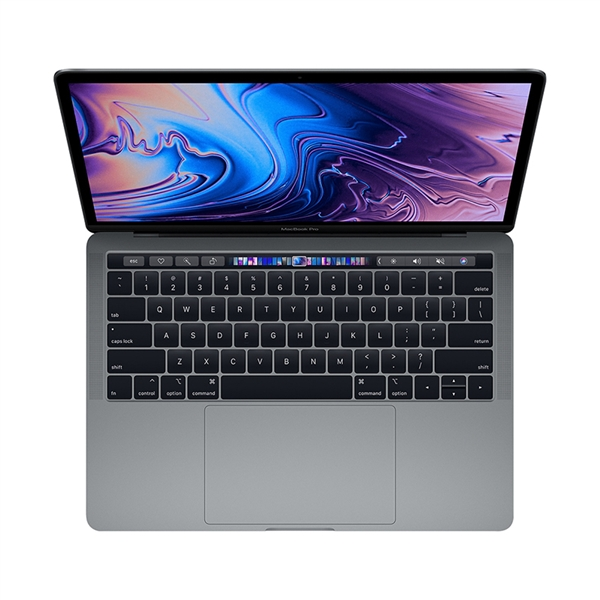 Apple MacBook Pro MV972 13.3'' 2.4GHz i5/8GB/512GB With Touch Bar 2019 Space Grey English Keyboard Με Αντάπτορα Πληρωμή έως 24 δόσεις