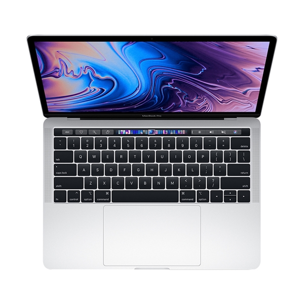 Apple MacBook Pro MV992 13.3'' 2.4GHz i5/8GB/256GB With Touch Bar 2019 Silver English Keyboard Με Αντάπτορα Πληρωμή έως 24 δόσεις*