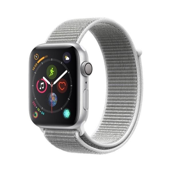 Apple Watch Series 4 40mm Aluminium Silver Sport Loop MU652 Πληρωμή έως 24 δόσεις