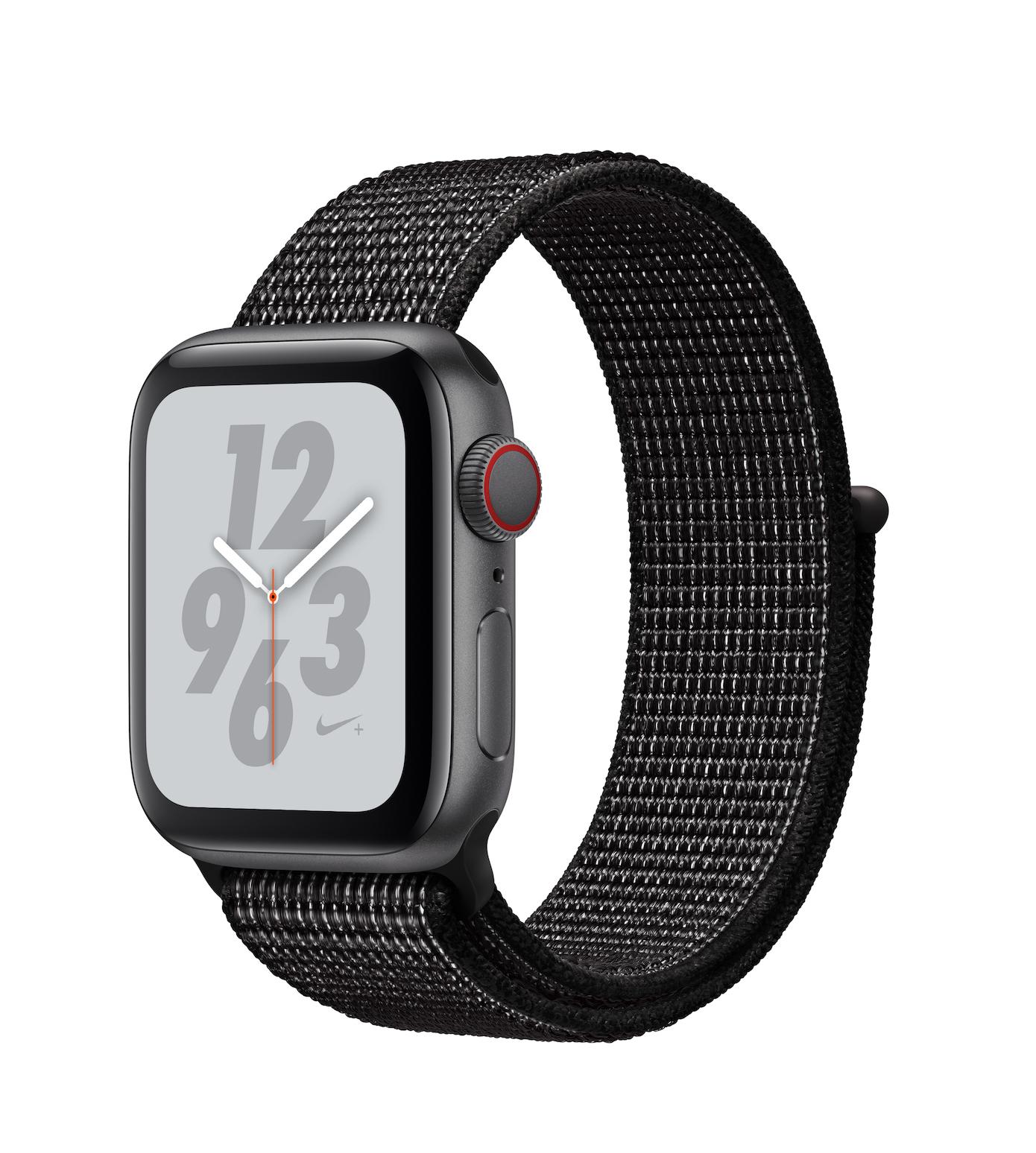 Apple Watch Series 4 Nike+ 44mm Aluminium Space Grey Sport Loop MU7J2 Πληρωμή έως 24 δόσεις