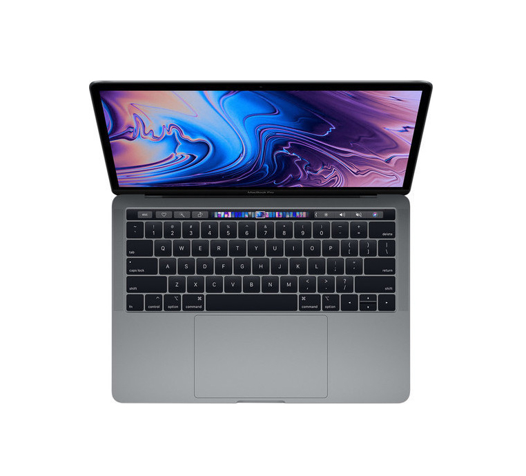 Apple MacBook Pro MV902 15.4'' 2.6GHz i7/16GB/256GB/Radeon Pro 555X With Touch Bar 2019 Space Grey English Keyboard Με Αντάπτορα Πληρωμή έως 24 δόσεις