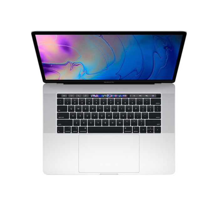 Apple MacBook Pro MV922 15.4'' 2.6GHz i7/16GB/256GB/Radeon Pro 555X With Touch Bar 2019 Silver English Keyboard Με Αντάπτορα Πληρωμή έως 24 δόσεις