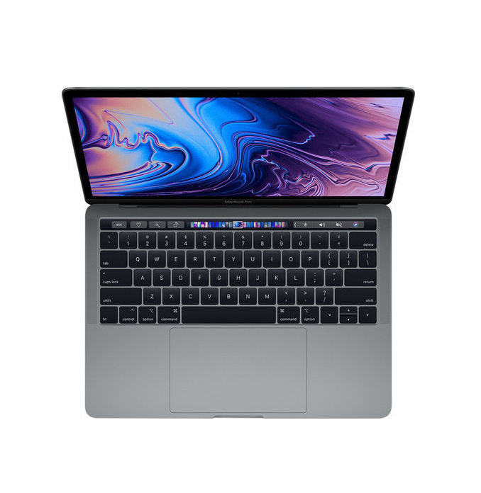 Apple MacBook Pro MUHN2 13.3'' 1.4GHz i5/8GB/128GB With Touch Bar 2019 Space Grey English Keyboard Με Αντάπτορα Πληρωμή έως 24 δόσεις