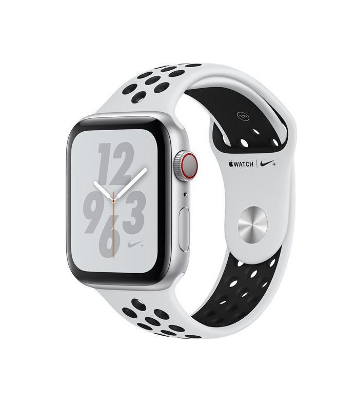 Apple Watch Series 4 Nike+ 44mm Cellular Aluminium Silver Nike Band MTXK2 Πληρωμή έως 24 δόσεις