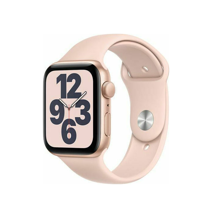 Apple Watch SE 44mm Aluminium Gold Pink Sport Band MYDR2 Πληρωμή έως 24 δόσεις