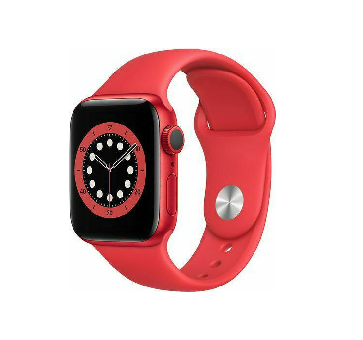 Apple Watch Series 6 44mm Aluminium Product Red M00M3 Πληρωμή έως 24 δόσεις
