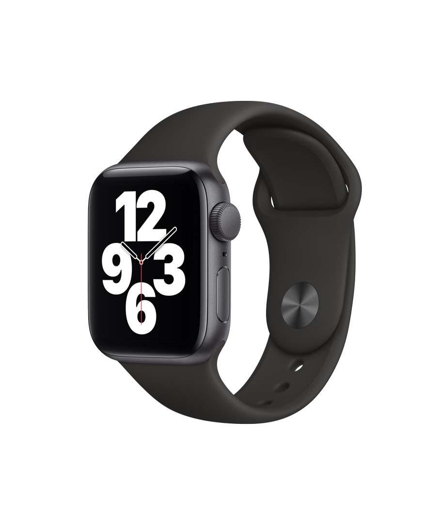 Apple Watch SE 40mm Aluminium Space Gray Sport Band MYDP2 Πληρωμή έως 24 δόσεις