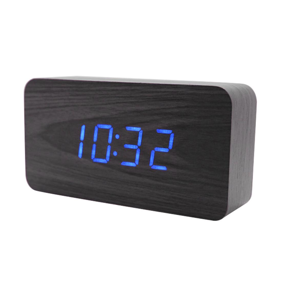 Ξύλινο Ρολόι Μαύρο OEM KL-1Q