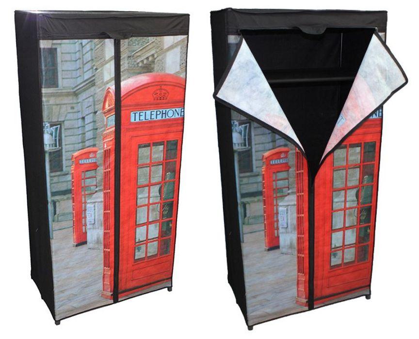 Ντουλάπα Υφασμάτινη 75x45x160cm London