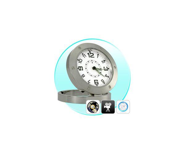 Ρολόι Κρυφή Κάμερα Επιτραπέζιο με Ανίχνευση Ηχου - Spy Clock Cam