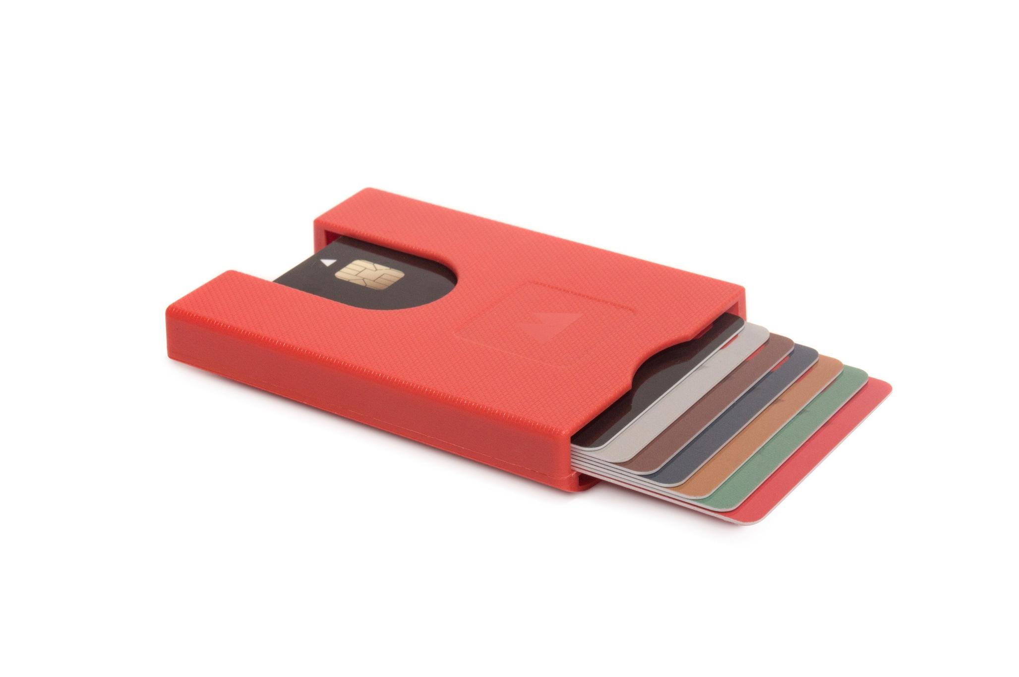 Πορτοφόλι για πιστωτικές κάρτες Walter Wallet True Jet Red