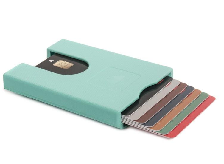 Πορτοφόλι για πιστωτικές κάρτες Walter Wallet True Fresh Mint