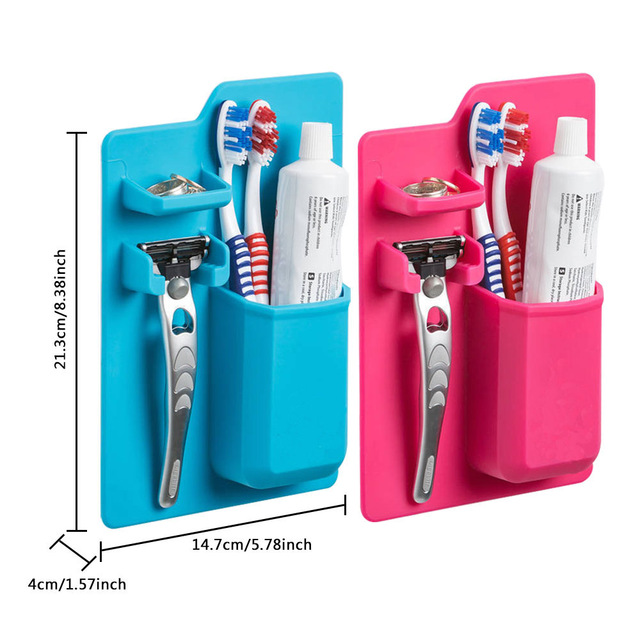Πρωτότυπο Organizer Μπάνιου - Mighty Toothbrush Holder