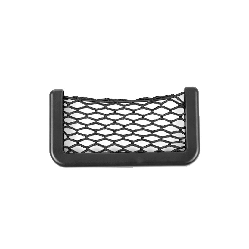 Αυτοκόλλητη Θήκη Αυτοκινήτου με Ελαστικό Δίχτυ 15x8cm