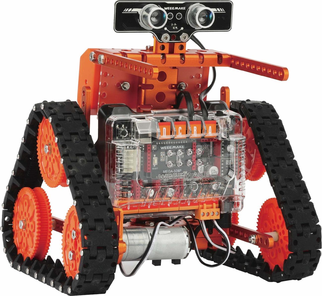 WeeeMake - WeeeMake - WeeeBot 6-in-1 Evolution STEM - Κιτ ρομποτικής και προγραμματισμού