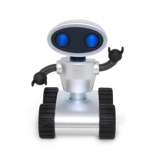 Robot USB Hub Ασημένιο