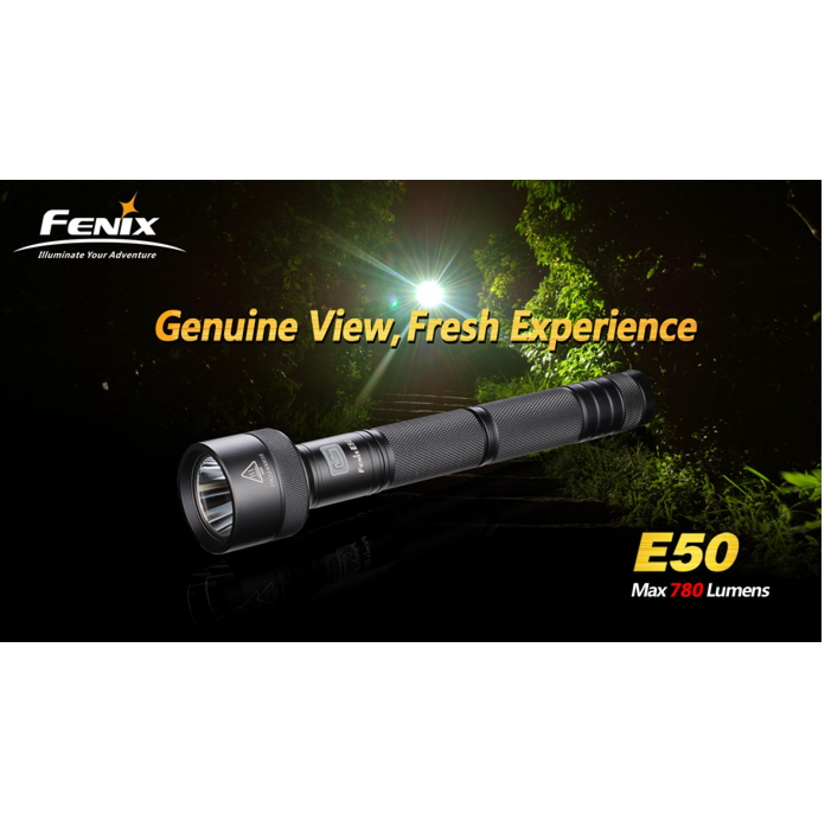 Fenix E50 XM-L (T6) LED Flashlight