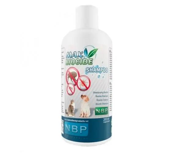 Αντιπαρασιτικό Σαμπουάν Σκύλου - Γάτας Max Biocide 200ml