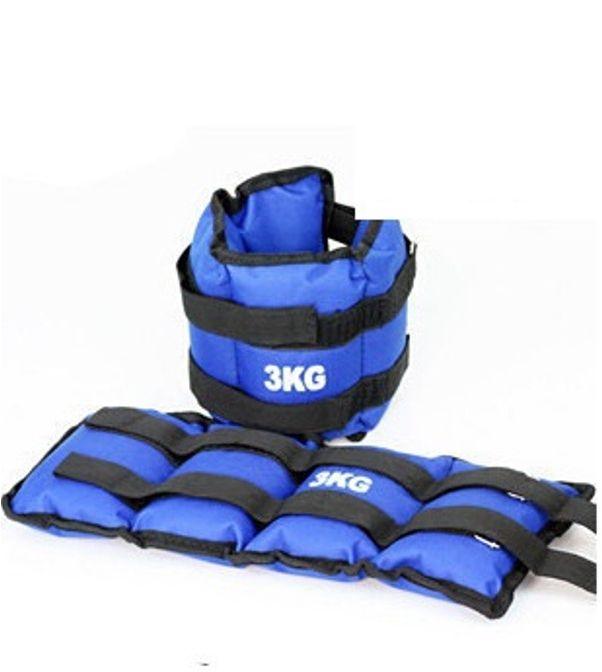 Βαράκια Ασκήσεων Αστραγάλου και Καρπού 3 kg - 2 τμχ