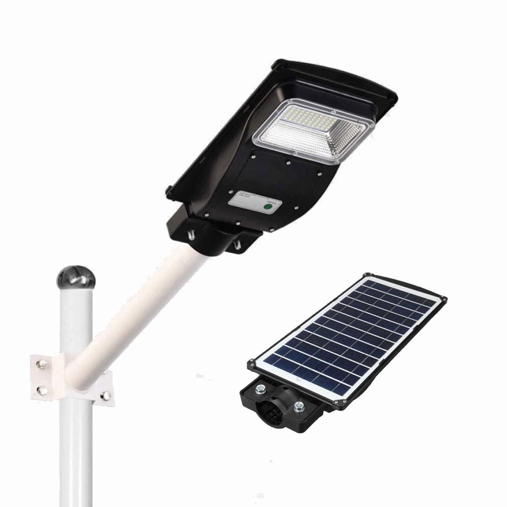 Ηλιακό Φωτιστικό Led 50W Εξωτερικού Χώρου με Τηλεχειριστήριο και Αισθητήρα Φωτός OEM 614