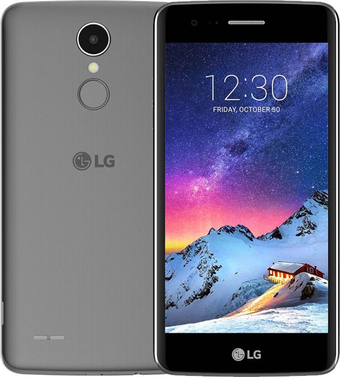 LG K8 2017 M200N 4G Dual 16GB Titan EU (Δώρο Tempered Glass + Θήκη)