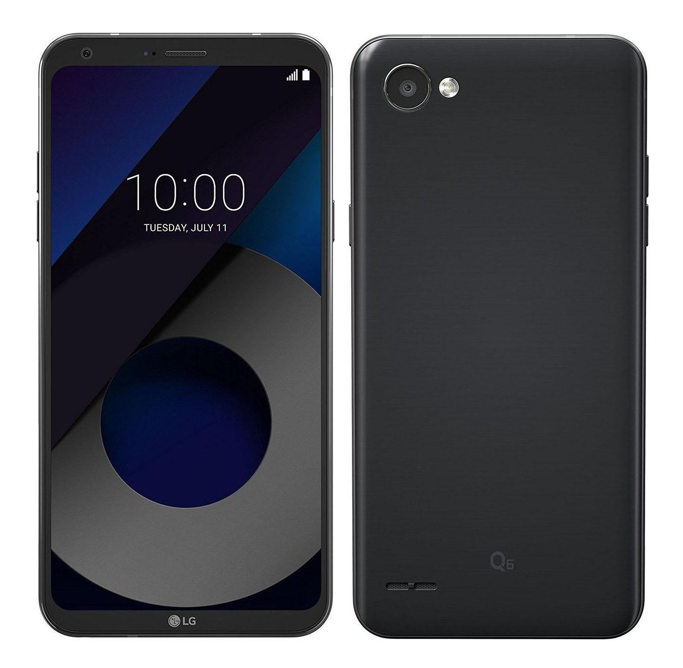 LG Q6 2017 M700A 32GB Black EU (Δώρο Tempered Glass)