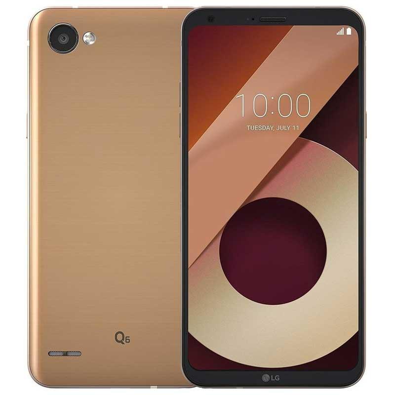 LG Q6 2017 M700A 32GB Gold EU (Δώρο Tempered Glass)