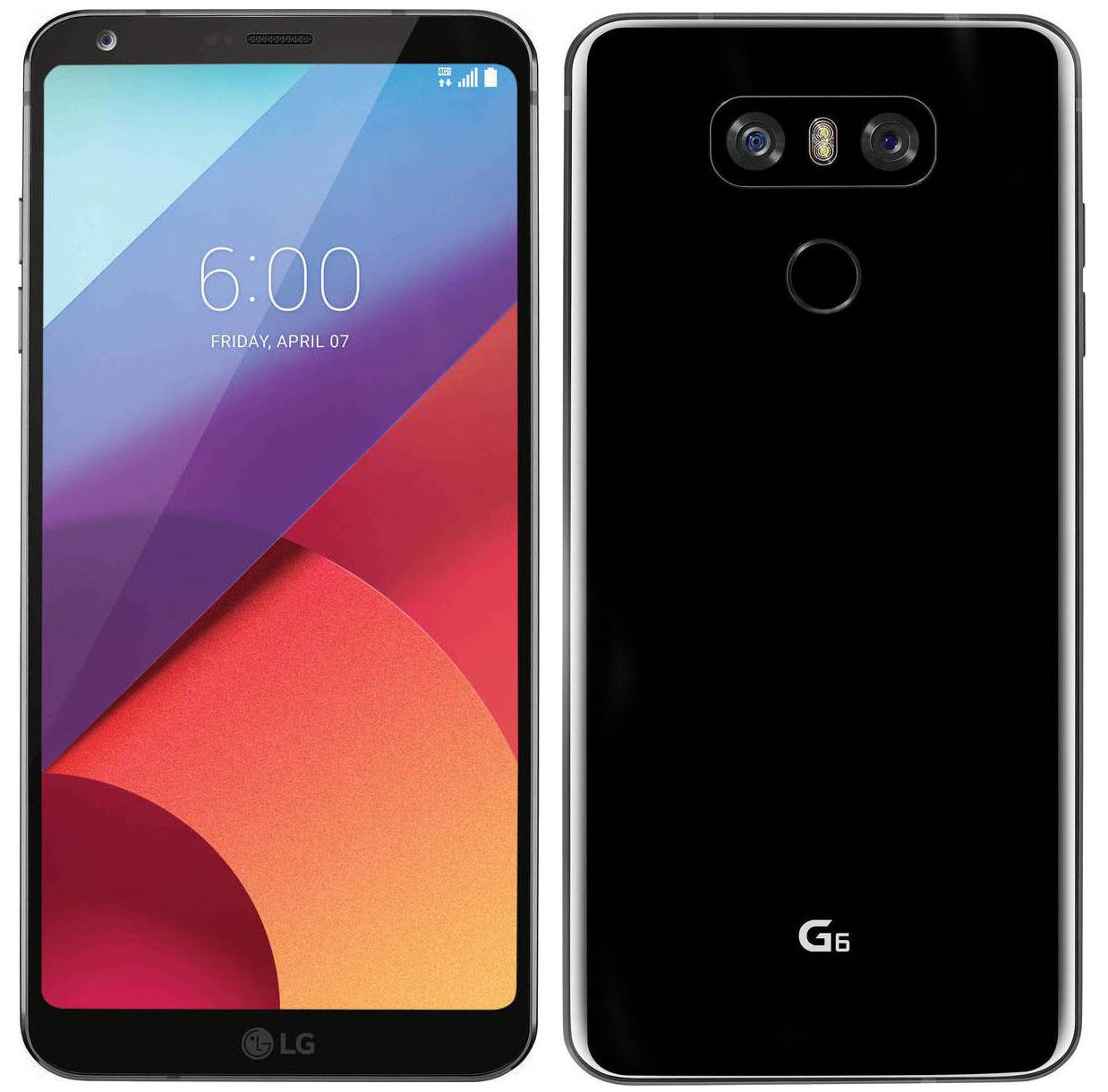 LG G6 H870 Dual 32GB Astro Black (Δώρο Tempered Glass + Θήκη)
