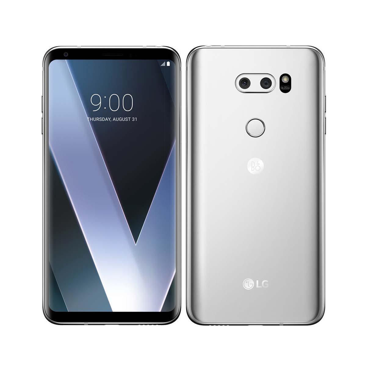LG V30 Plus H930 Dual 128GB Silver Πληρωμή έως 12 δόσεις