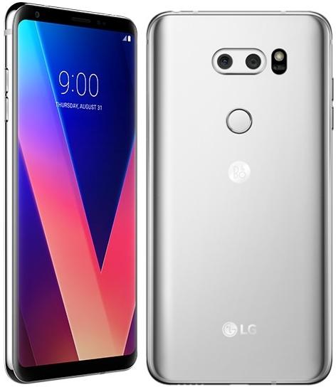 LG V30 H930 64GB Silver (Δώρο Tempered Glass + Θήκη) Πληρωμή έως 12 δόσεις