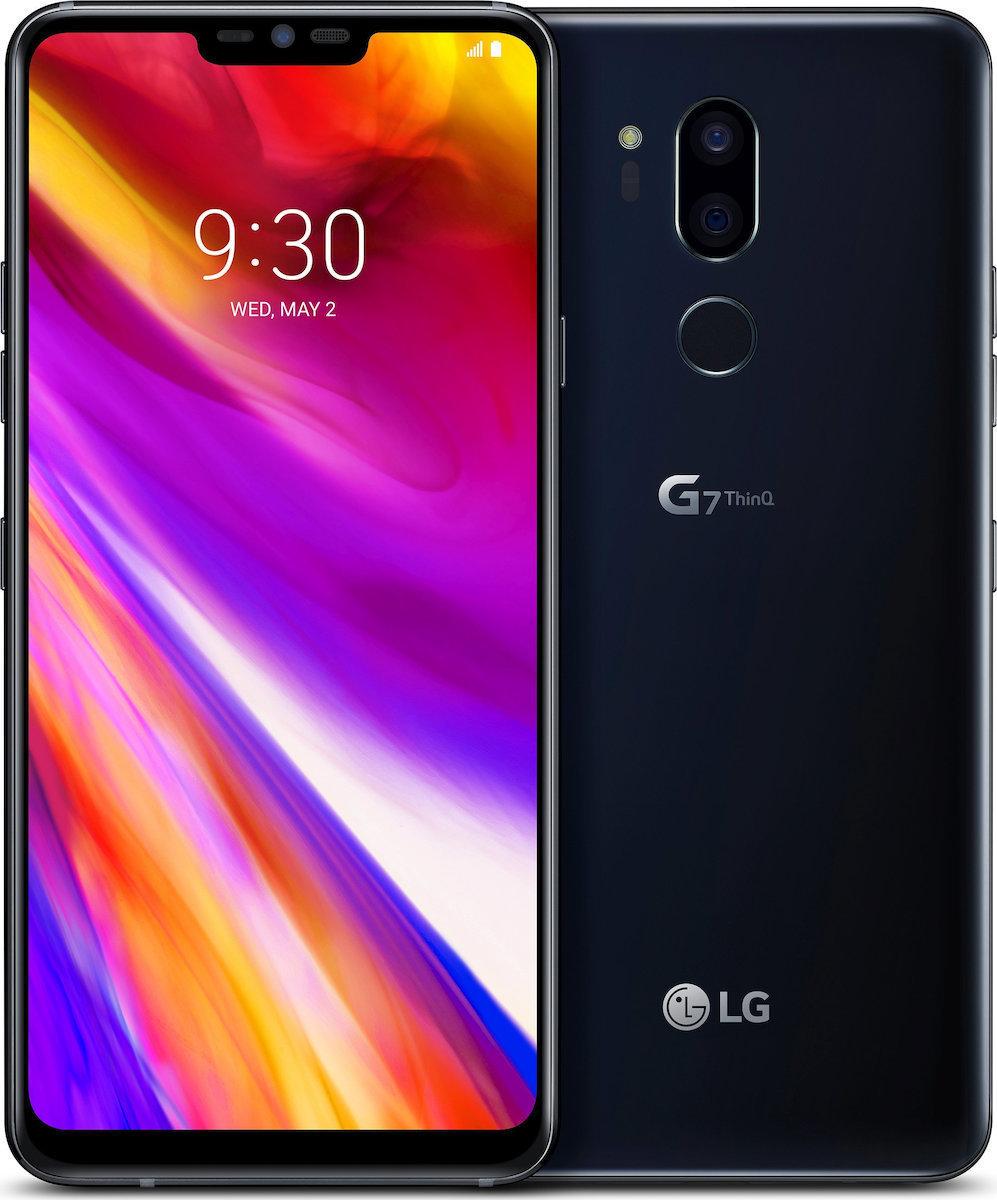 LG G7 ThinQ G710 Dual 64GB Black Πληρωμή έως 24 δόσεις