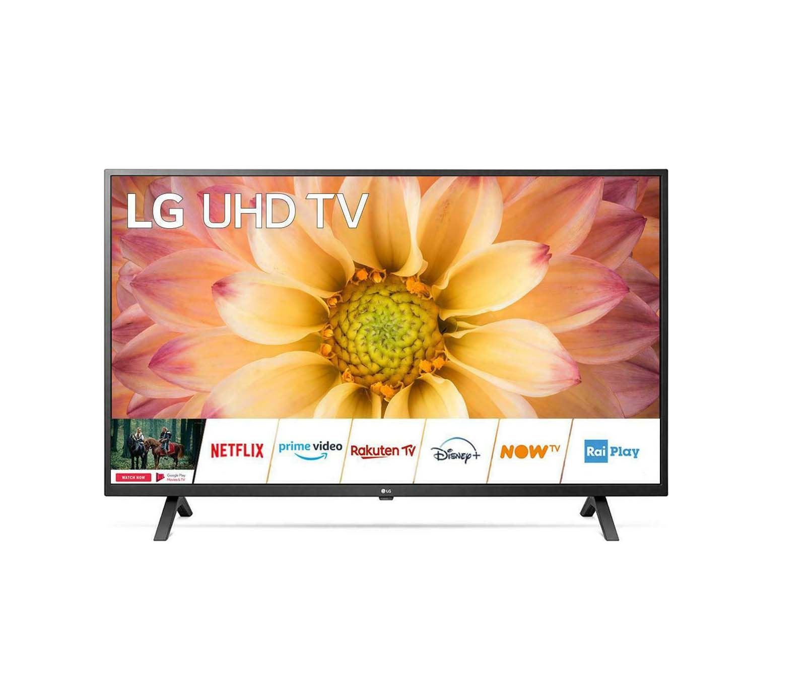 "LG 65UN70003LA Smart 4K UHD 65"" Τηλεόραση Πληρωμή έως 24 δόσεις"
