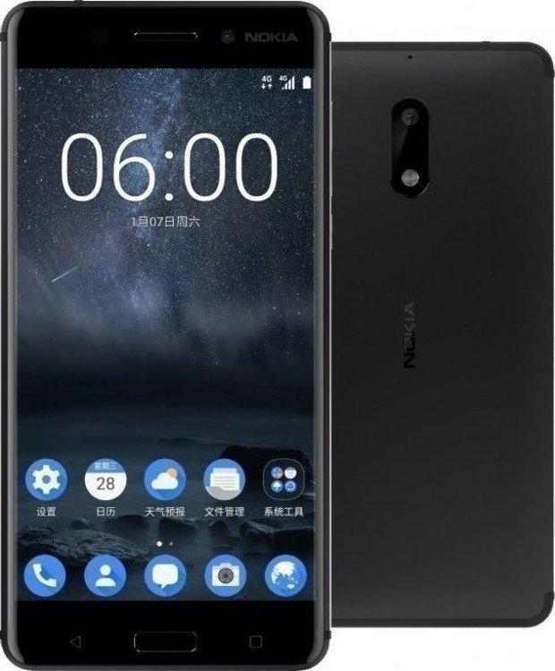 Nokia 6 32GB Black EU (Θήκη)