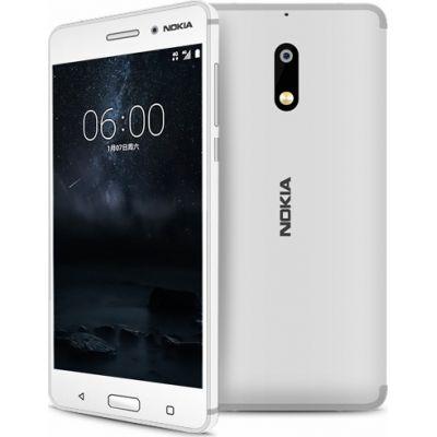 Nokia 6 32GB White EU (Θήκη)