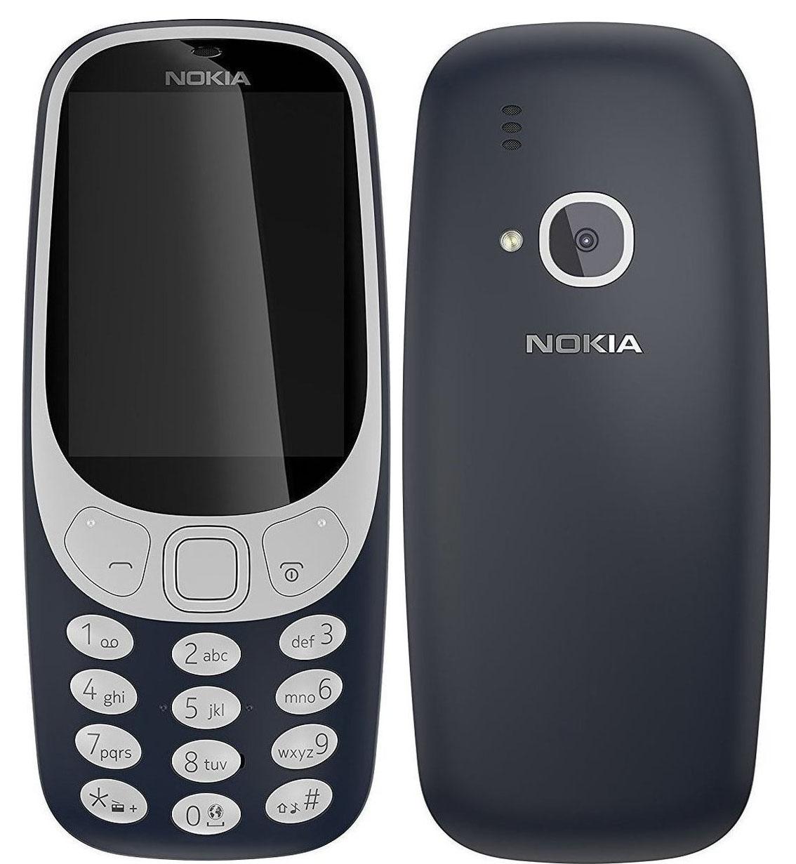 Nokia 3310 2017 Dark Blue EU (Δώρο Θήκη)