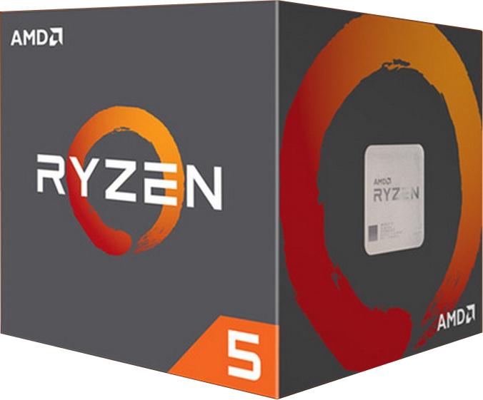 AMD Ryzen 5 1600 Box Επεξεργαστής με Wraith Spire Cooler Πληρωμή έως 12 δόσεις
