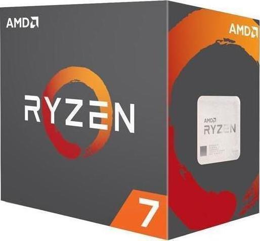 AMD Ryzen 7 1800X Box Επεξεργαστής Πληρωμή έως 12 δόσεις