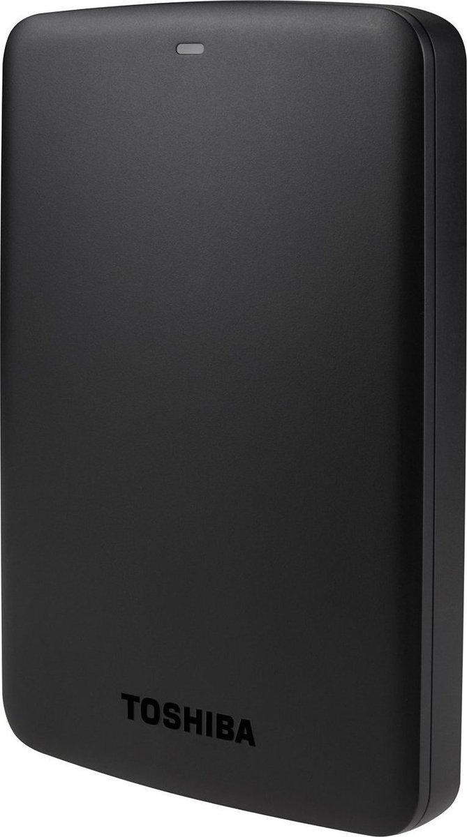 Toshiba Canvio Basics 1TB Εξωτερικός Σκληρός Δίσκος 2.5'' USB 3.0 Black