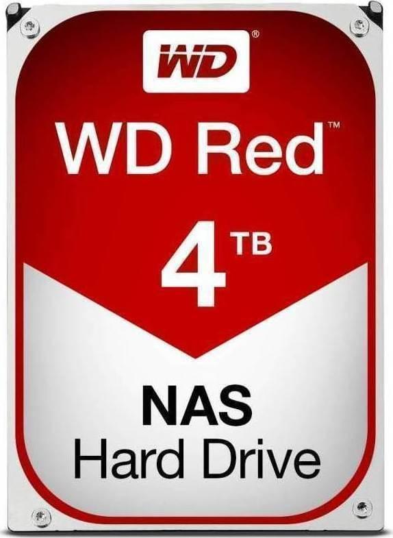 Western Digital Red NAS 4TB WD40EFRX Σκληρός Δίσκος 3.5'' Sata 3