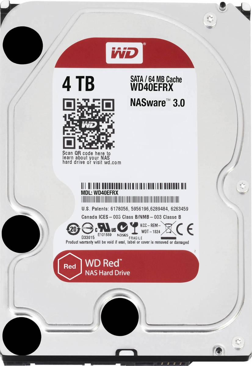 Western Digital Red NAS 4TB Σκληρός Δίσκος 3.5'' Sata 3