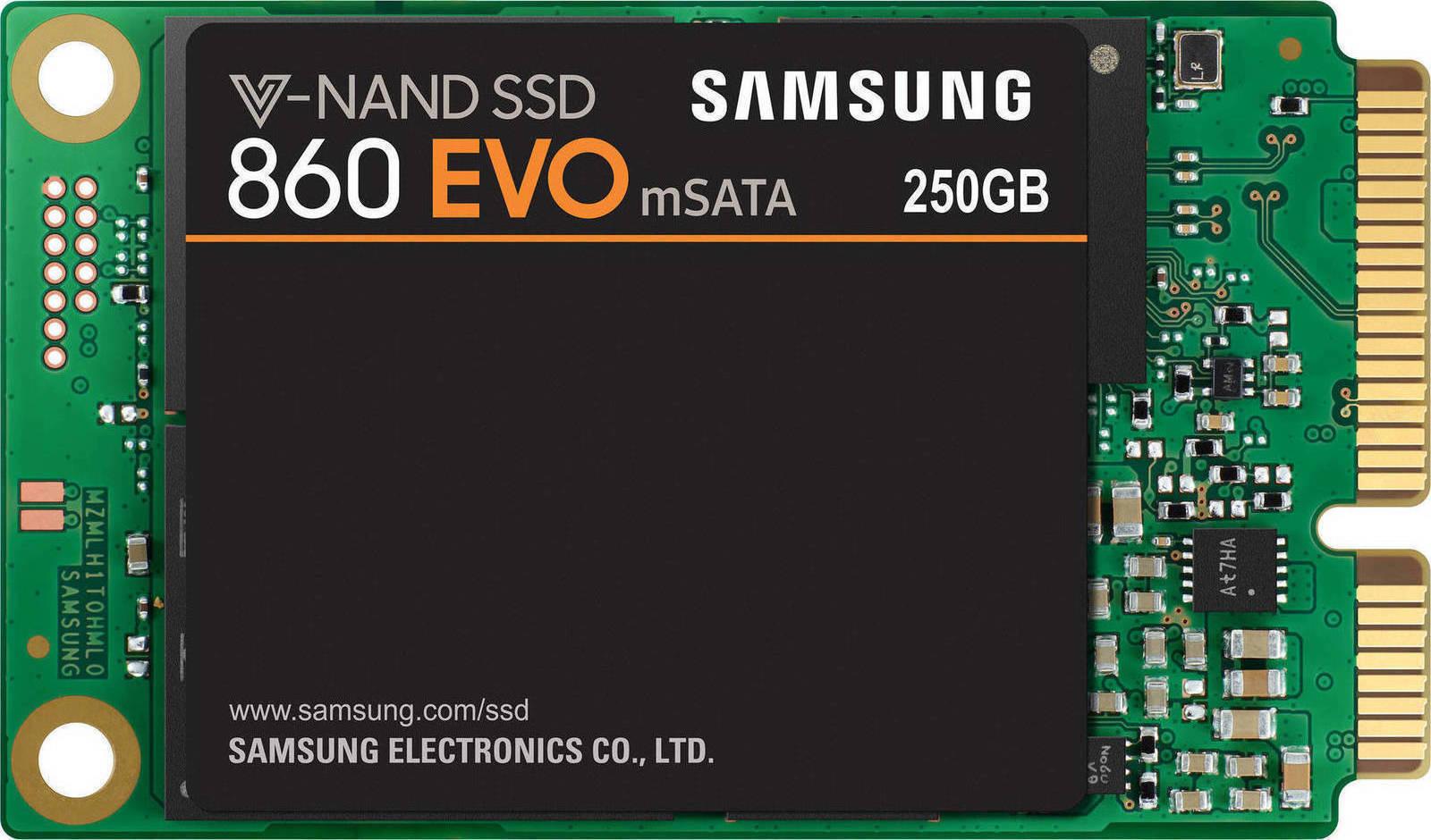 Samsung 860 Evo mSATA 250GB Σκληρός Δίσκος SSD
