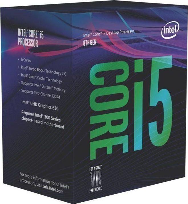 Intel Core i5-8400 Box  Επεξεργαστής Πληρωμή έως 24 δόσεις
