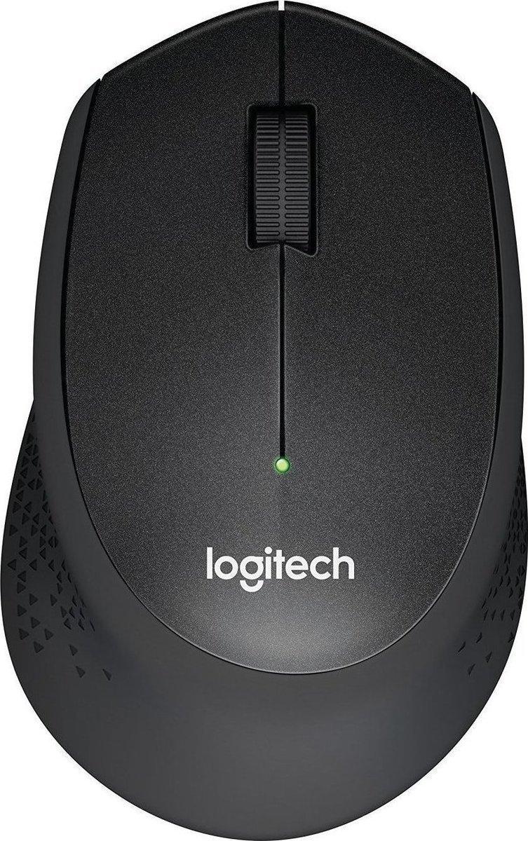 Logitech M330 Silent Plus Ασύρματο Ποντίκι Black
