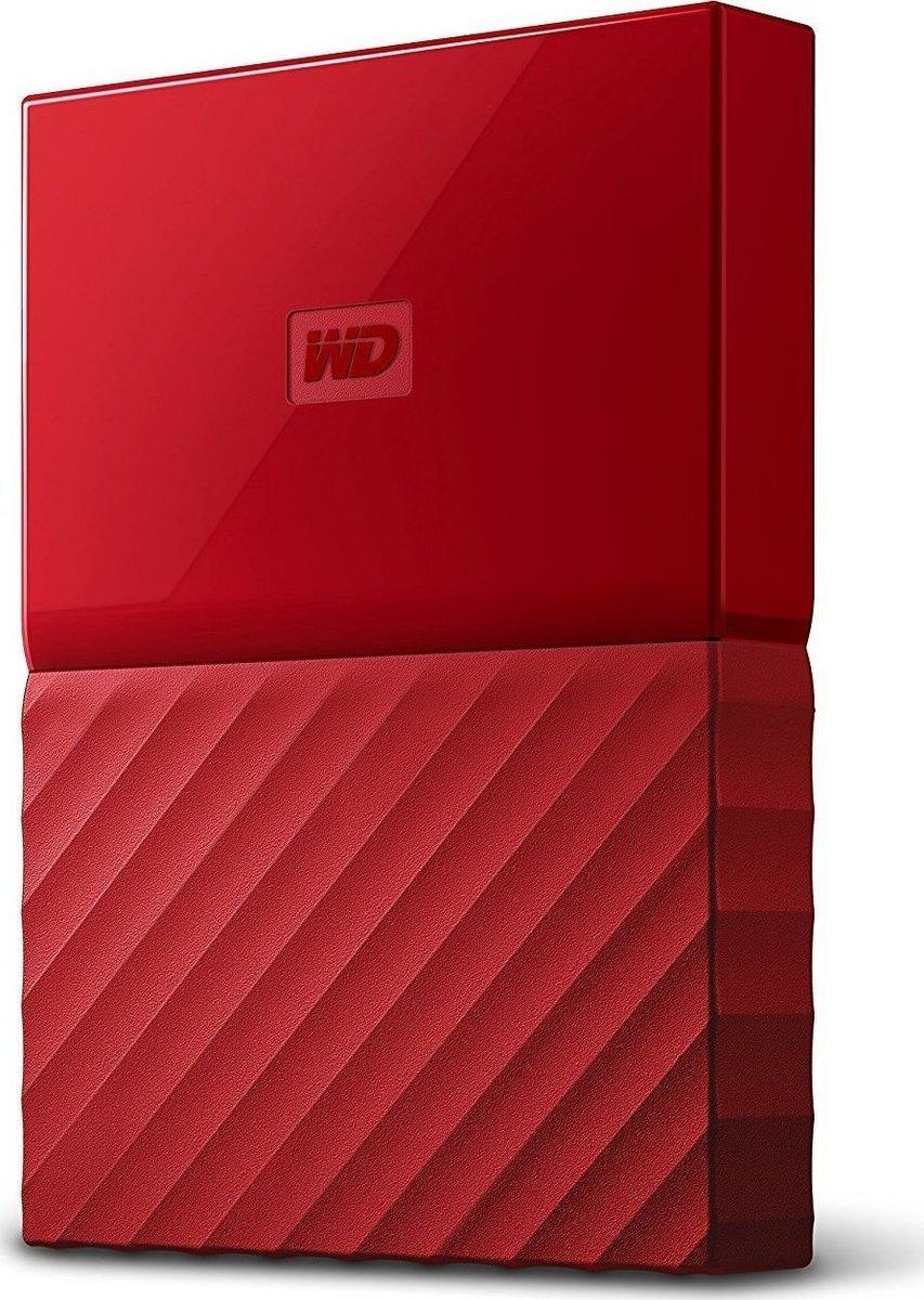 Western Digital My Passport 1TB Εξωτερικός Σκληρός Δίσκος USB 3.0 Red