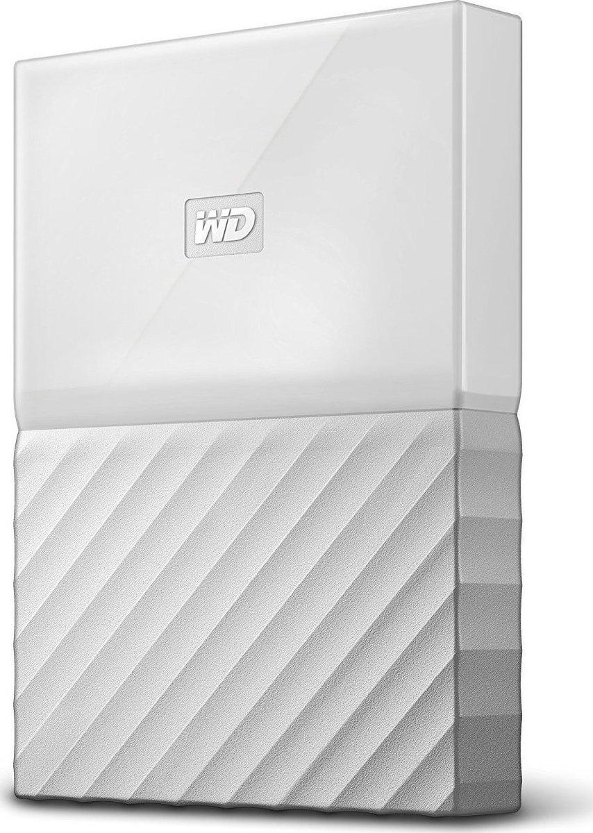 Western Digital My Passport 1TB Εξωτερικός Σκληρός Δίσκος USB 3.0 White