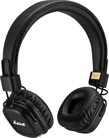 Marshall Major II Bluetooth Headphones Black
